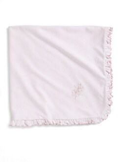 Kissy Kissy - Infant's Ruffled Blanket