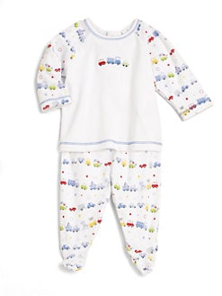 Kissy Kissy - Infant's Two-Piece Auto Top & Footed Pants Set