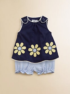 Hartstrings - Infant's Daisy Top & Shorts Set