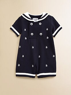 Hartstrings - Infant's Sailor Suit Romper