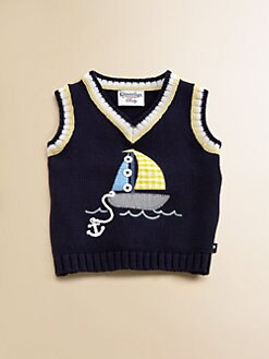 Hartstrings - Infant's Sailboat Sweater Vest