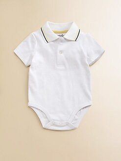 Hartstrings - Infant's Color-Tipped Polo Bodysuit