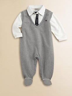 Armani Junior - Infant's Polo Footie