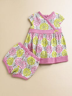 Offspring - Infant's Daisy Dress & Bloomers Set