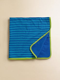 Offspring - Infant's Striped Turtle Blanket