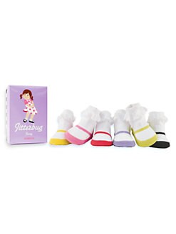 Trumpette - Infant's (0-12mo) Jitterbug Jenny Sock Set