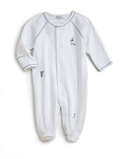 Kissy Kissy - Infant's Par 4 Footie
