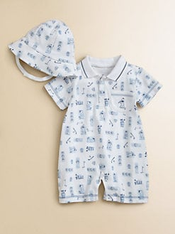 Kissy Kissy - Infant's Par 4 Playsuit & Sunhat Set