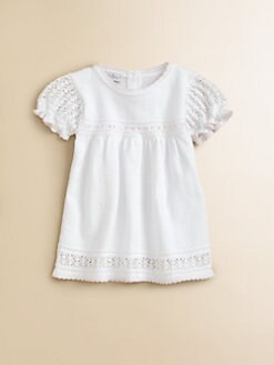 Kissy Kissy - Infant's Crochet Ribbon Dress