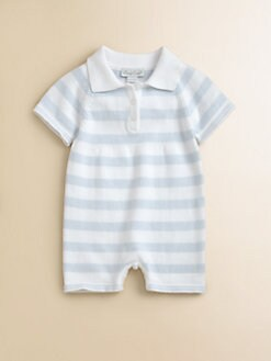 Kissy Kissy - Infant's Striped Knit Playsuit