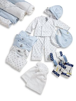 Noa Lily - Infant's Stars and Stripes Gift Set/Blue