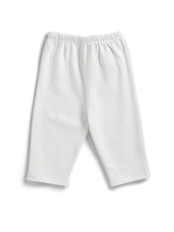 Kissy Kissy - Infant's Pima Cotton Leggings/White