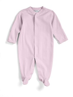 Kissy Kissy - Infant's Pima Cotton Footie/Pink