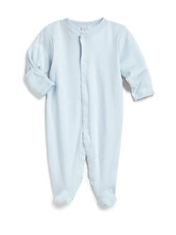 Kissy Kissy - Infant's Pima Cotton Footie/Blue