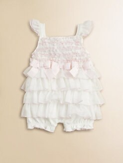 Miniclasix - Infant's Ruffled Romper