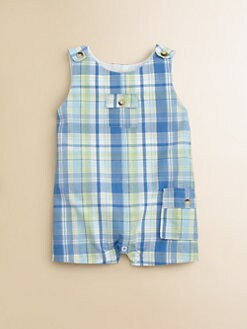 Hartstrings - Infant's Plaid Eton Suit