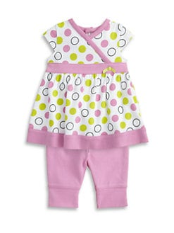 Offspring - Infant's Dot Dress and Legging Set