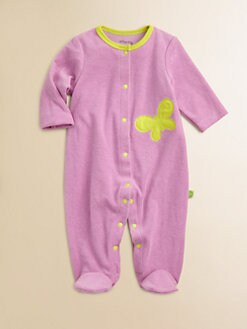 Offspring - Infant's Terry Butterfly Footie