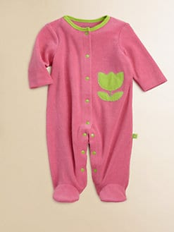 Offspring - Infant's Terry Tulip Footie
