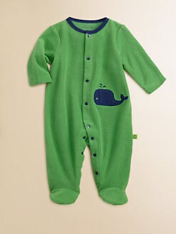 Offspring - Infant's Terry Whale Footie