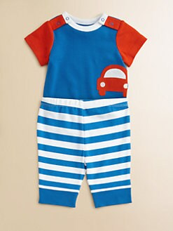 Offspring - Infant's Car Bodysuit and Pants Set