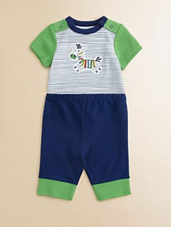Offspring - Infant's Zebra Bodysuit and Pants Set