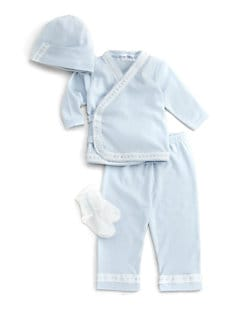 Royal Baby - Infant's 4-Piece Take Home Set/Blue