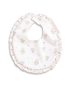 Kissy Kissy - Infant's Beary Cupcakes Bib