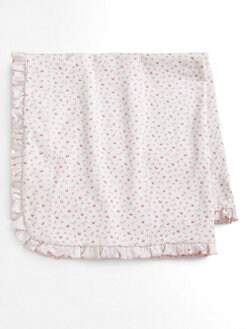 Kissy Kissy - Infant's Beary Cupcakes Ruffle Blanket