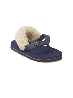UGG Australia - Infant's Sheepskin Flip Flops