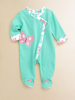 Offspring - Infant's Butterfly Footie