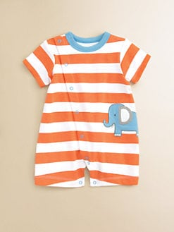 Offspring - Infant's Striped Elephant Shortall