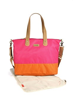 Storksak - Colorblocked Diaper Bag