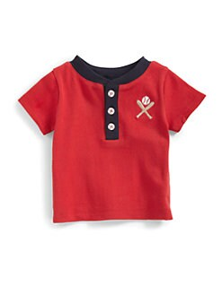 Hartstrings - Infant's Knit Baseball Shirt