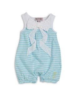 Juicy Couture - Infant's Striped Romper