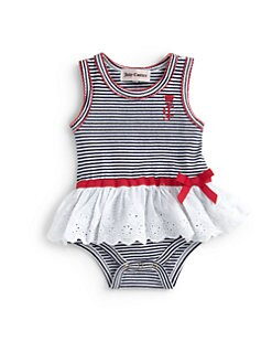 Juicy Couture - Infant's Striped Bodysuit