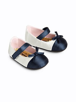 Juicy Couture - Infant's Colorblock Satin Mary Jane Flats