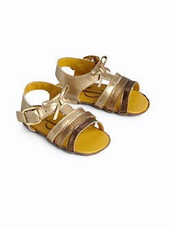 Juicy Couture - Infant's Metallic Sandals