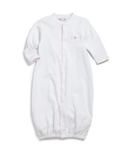 Kissy Kissy - Infant's Converter Gown/Pink Heart