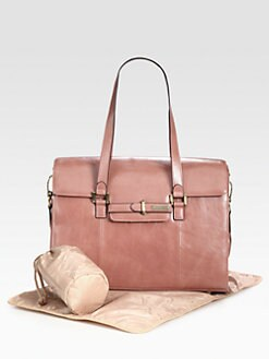 Storksak - Helena Leather Baby Bag
