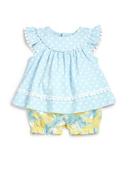 Hartstrings - Infant's Two-Piece Print Top & Bloomers Set