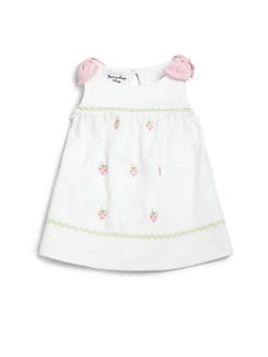 Hartstrings - Infant's Two-Piece Embroidered Dress & Diaper Cover Set