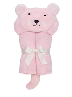 Elegant Baby - Bear Hooded Bath Wrap