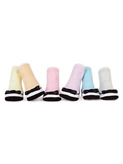 Trumpette - Infant's Baby Coco Six-Piece Sock Set