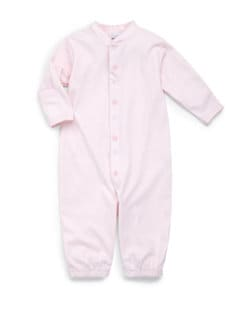 Royal Baby - Infant's Star-Motif Convertible Gown/Pink