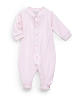 Royal Baby - Infant's Star-Motif Footie/Pink