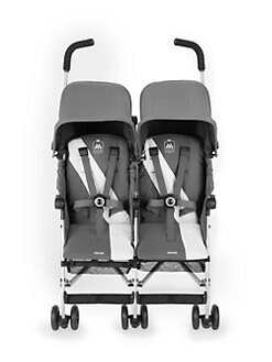 Maclaren - Twin Triumph Stroller/Charcoal