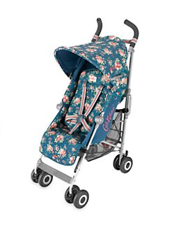 Maclaren - Blue Spray Floral Quest Stroller