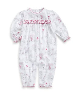 Kissy Kissy - Infant's A La Mode Paris Girl Playsuit