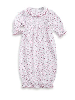 Kissy Kissy - Infant's A La Mode Bow Print Gown